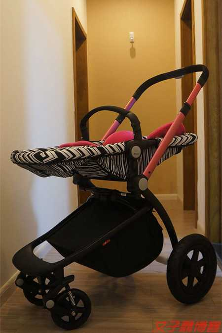婴儿车拆卸图解 好孩子gb08-h婴儿推车拆箱安装实拍
